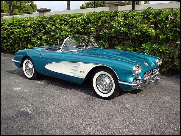 1958 Chevrolet Corvette Convertible | S93 | Dallas 2012 | Mecum Auctions