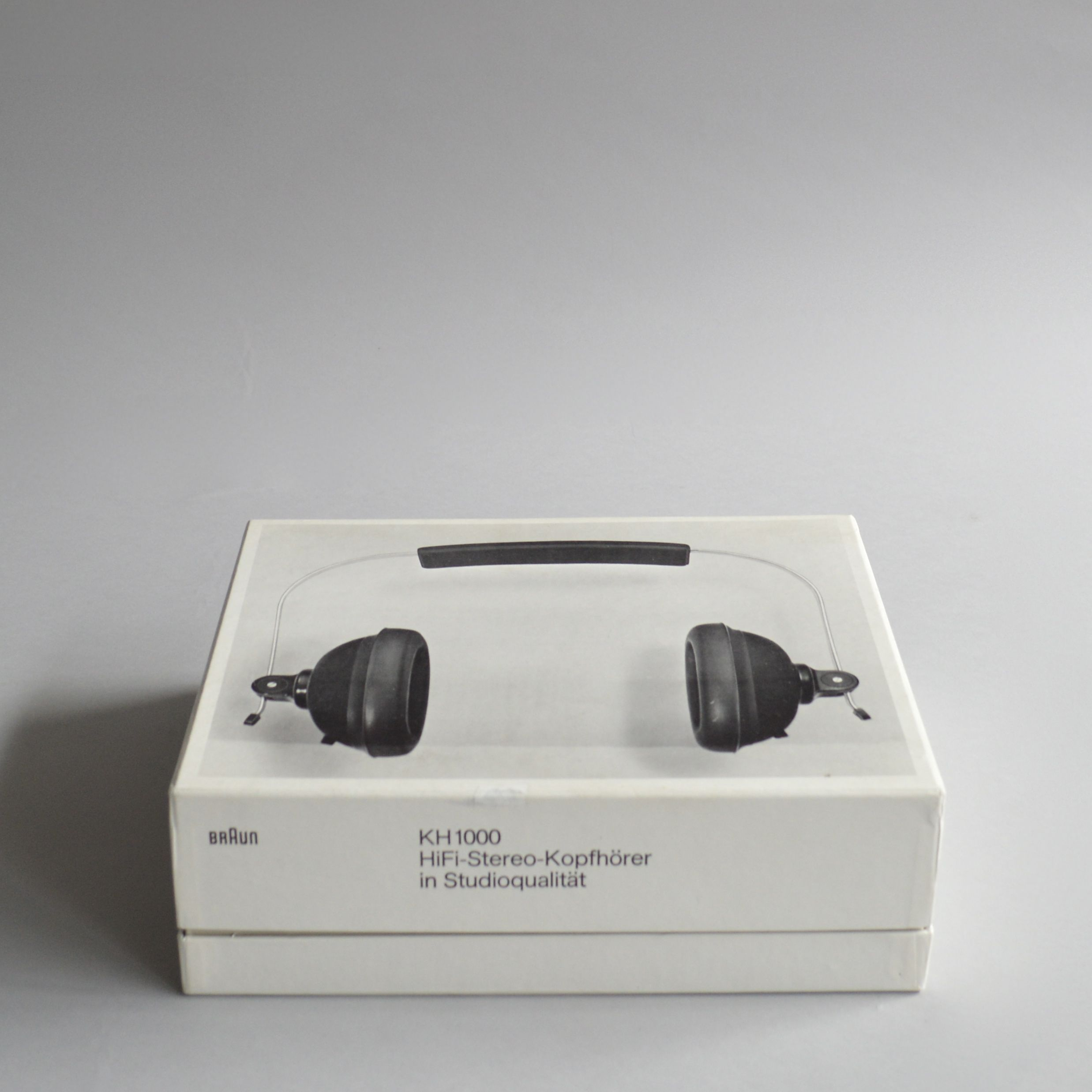 Braun kh 1000 dieter rams product design and package design for Industrial design packaging