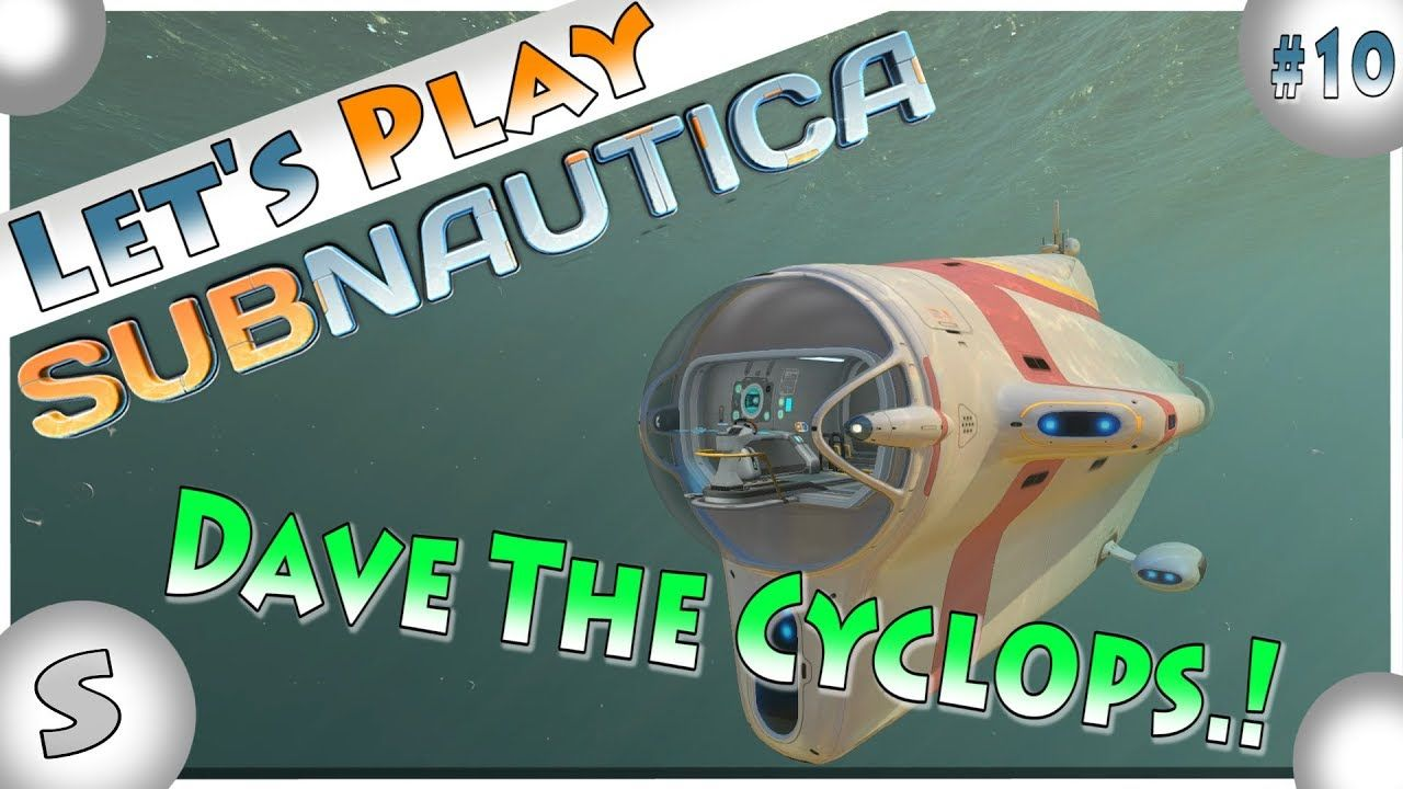 Subnautica Gameplay Part 10 --- Let's Play Walkthrough -- Dave the