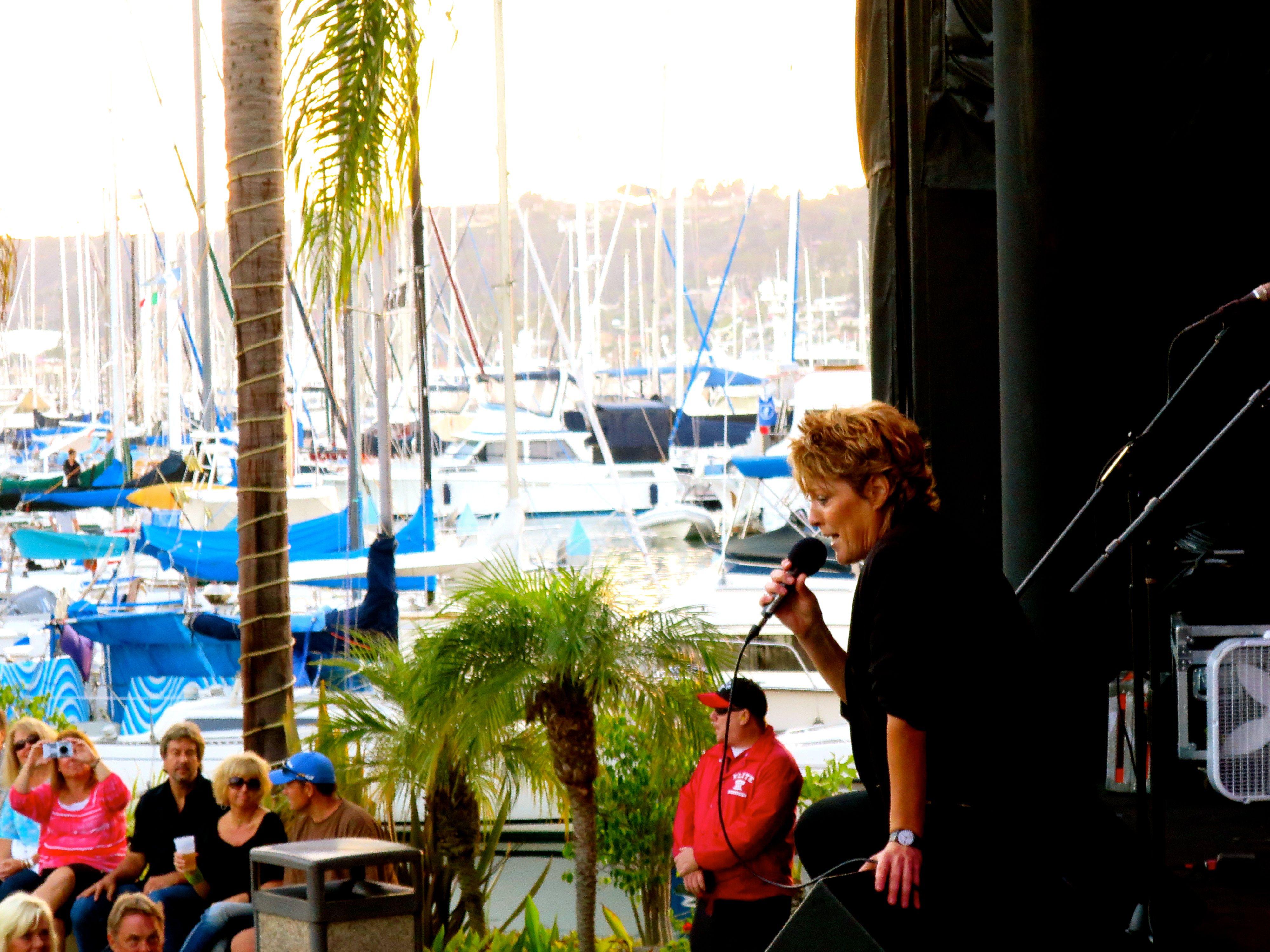 katrina from katrina & the waves - retro futura tour 2014 at the
