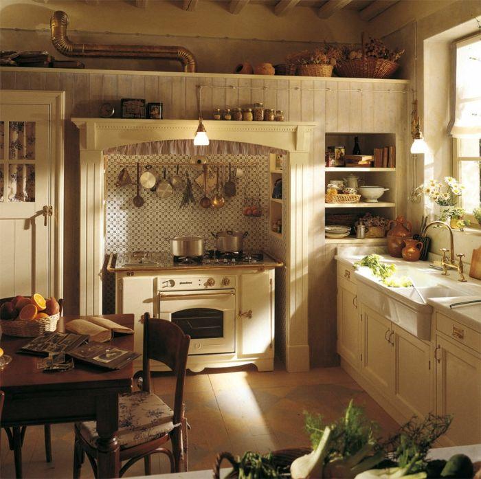 ▷ 1001+ Ideas de cocinas rusticas cálidas y con encanto | Cocina ...