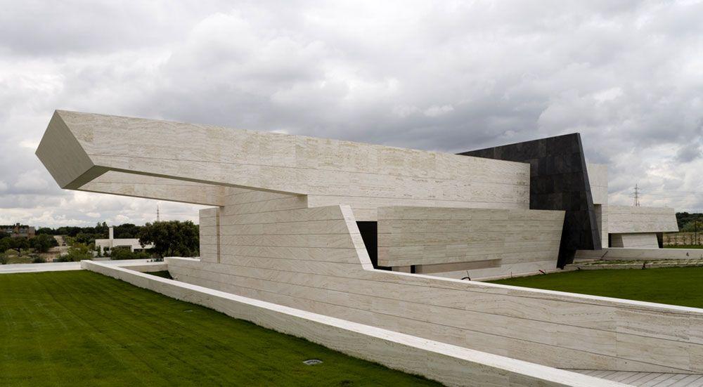ARQUIMASTER.com.ar | Proyecto: Vivienda 108 en Pozuelo de Alarcón (Madrid, España) - A-cero (Joaquín Torres architects) | Web de arquitectura y diseño