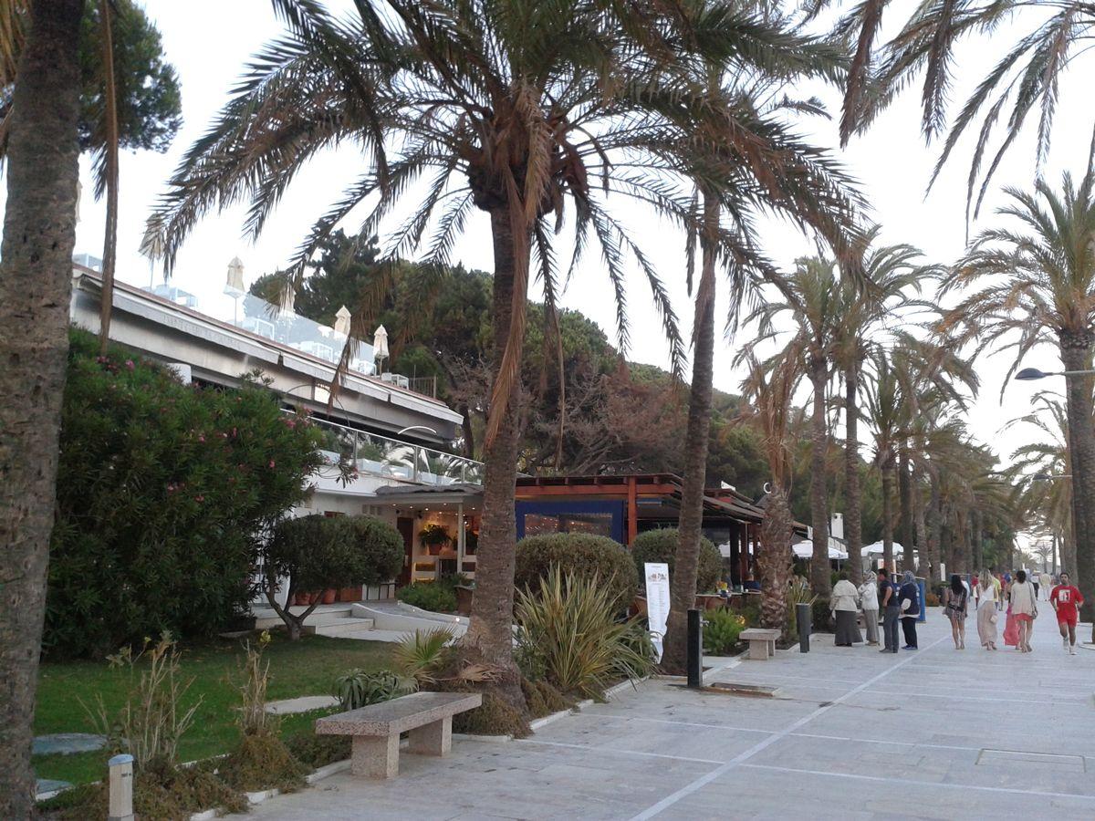 Restaurante Calima con Dani García en Marbella, España. Junto al hotel Meliá Don Pepe.