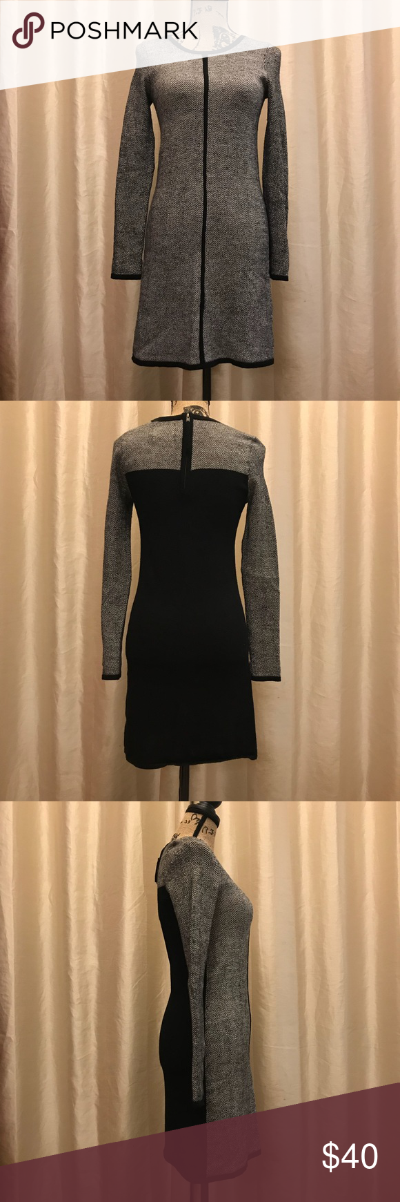 49a7e0933e8 Cynthia Rowley 100% Merino wool sweater dress Cynthia Rowley 100% Merino  wool sweater dress. Form fitting and classy for the office or an event.
