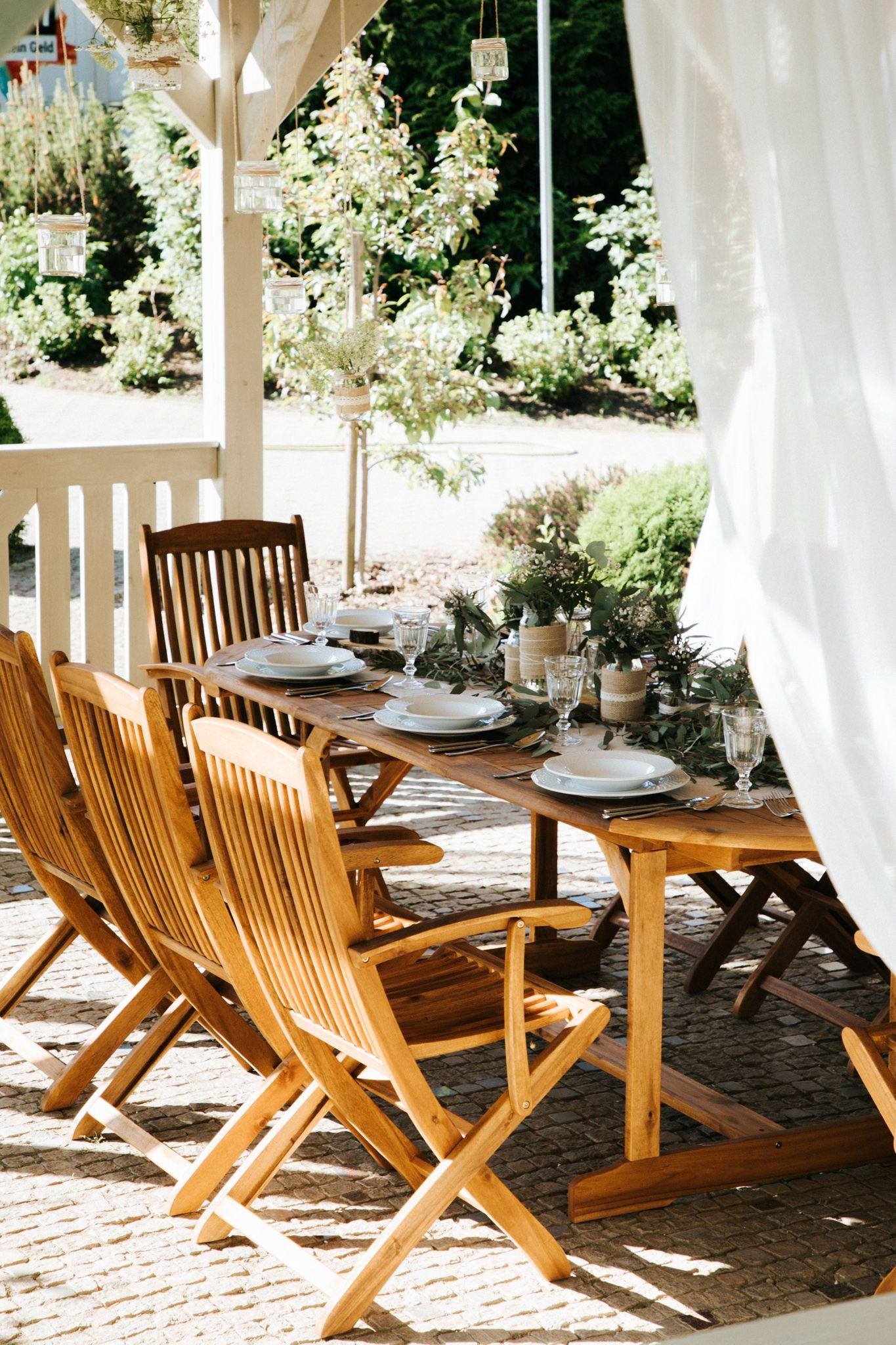 Gartenmobel Set Holz 8 Sitzer Maui In 2019 Garten Terrasse Und