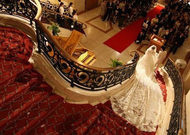 結婚式・結婚式場のイメージがよく分かる!エスタシオン・デ・神戸の公式写真をチェック♪ | 結婚, 神前式, ウェディング