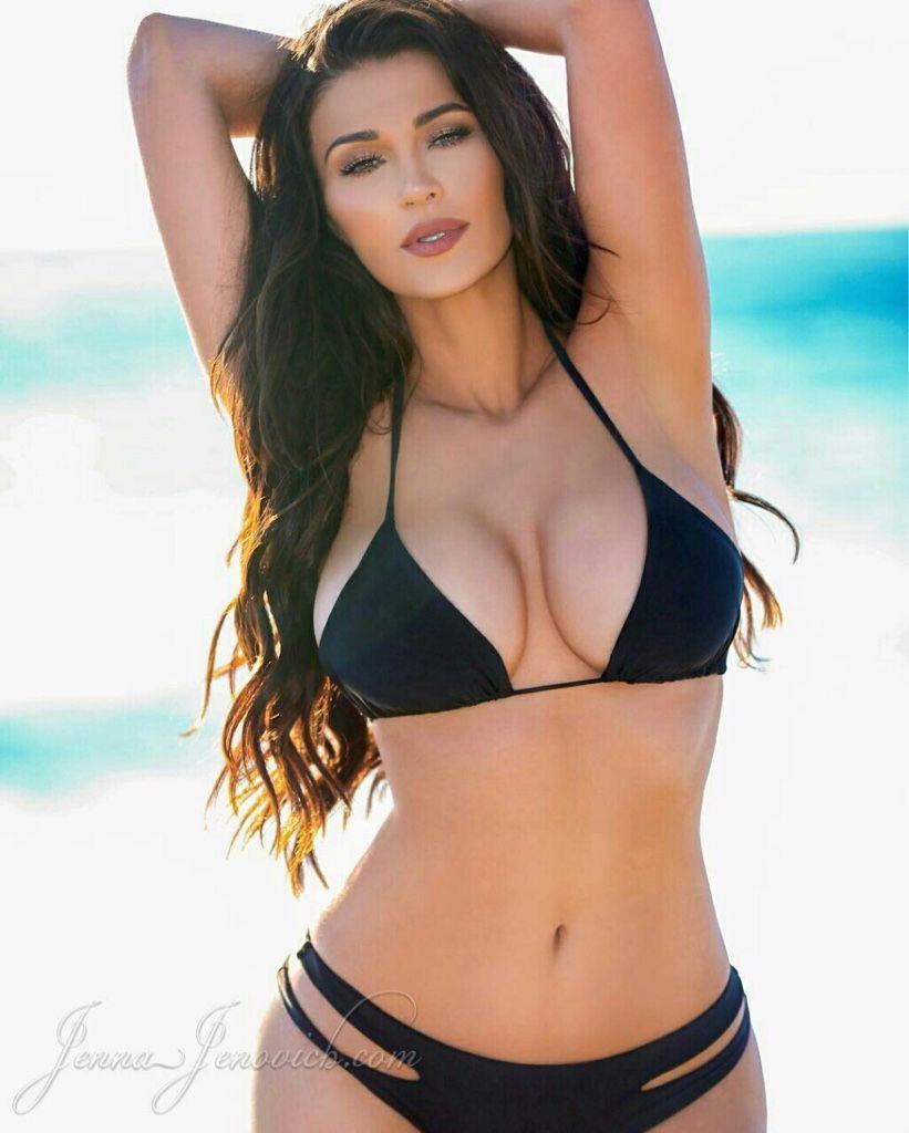 jenna hot sexyy in black | jenna jenovich | pinterest | brunettes