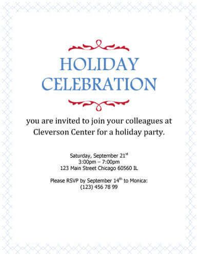 Free Invitation Template by Hloom Party Invitations - free corporate invitation templates
