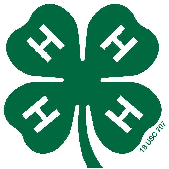 4 H Youth Development 4 H Club 4 H Clover 4 H