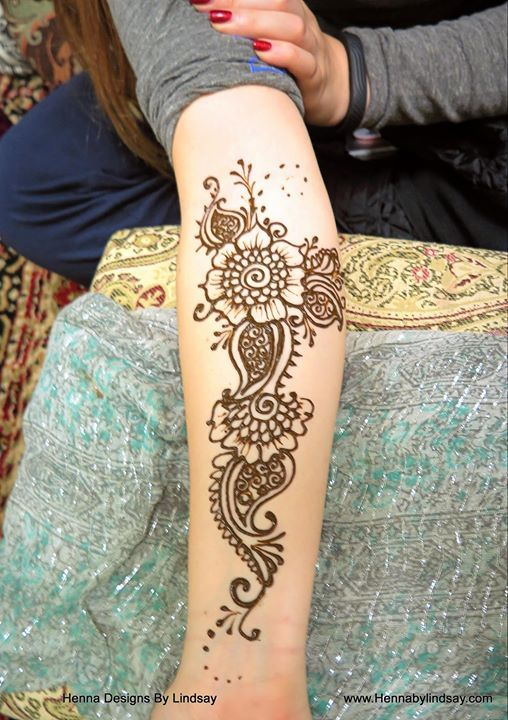 Paisley Flowers Henna Tattoo Design: Paisley Flower Henna Tattoo For Coco Rose Boutique! Www