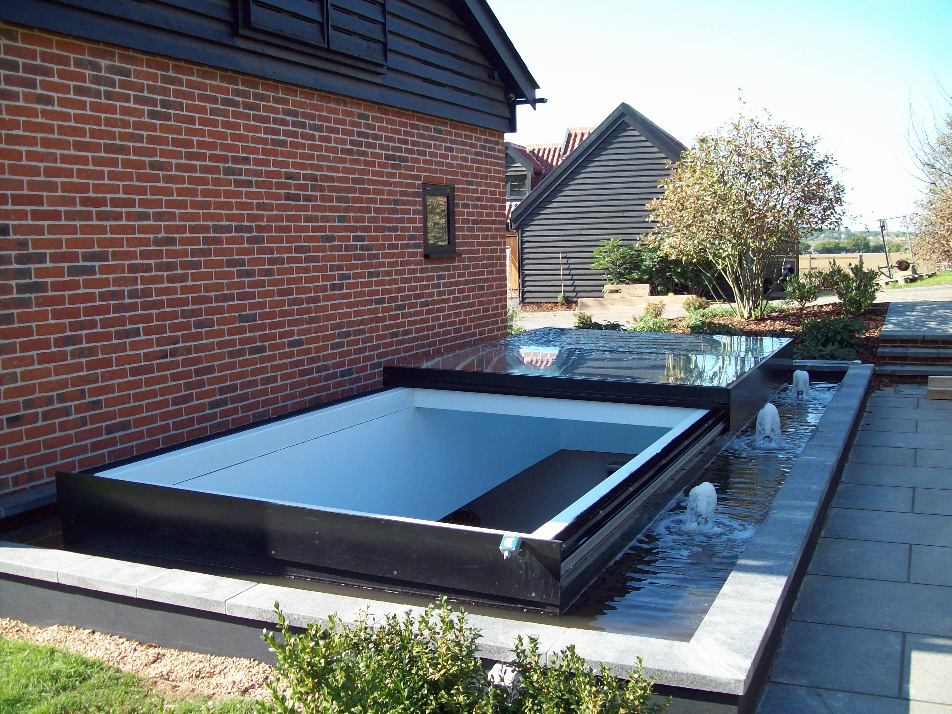 Sliding Roof Hatch Skylight Roof Light Glass House