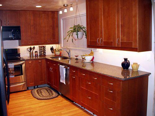 Ikea Adel Um Brown Kitchen Cabinets, Adel Kitchen Cabinets