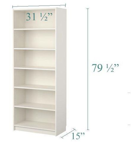 New IKEA Billy bookcases that are 15 inches deep!!!!! wahoooo