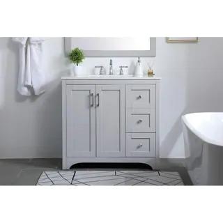 36 Inch Single Bathroom Vanity In 2020 Vanity Bathroom Single Bathroom Vanity