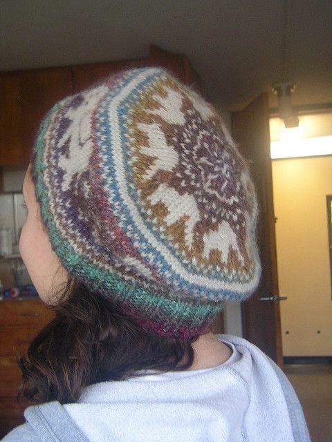Elephant Tam | Hat knitting patterns, Knit headband ...