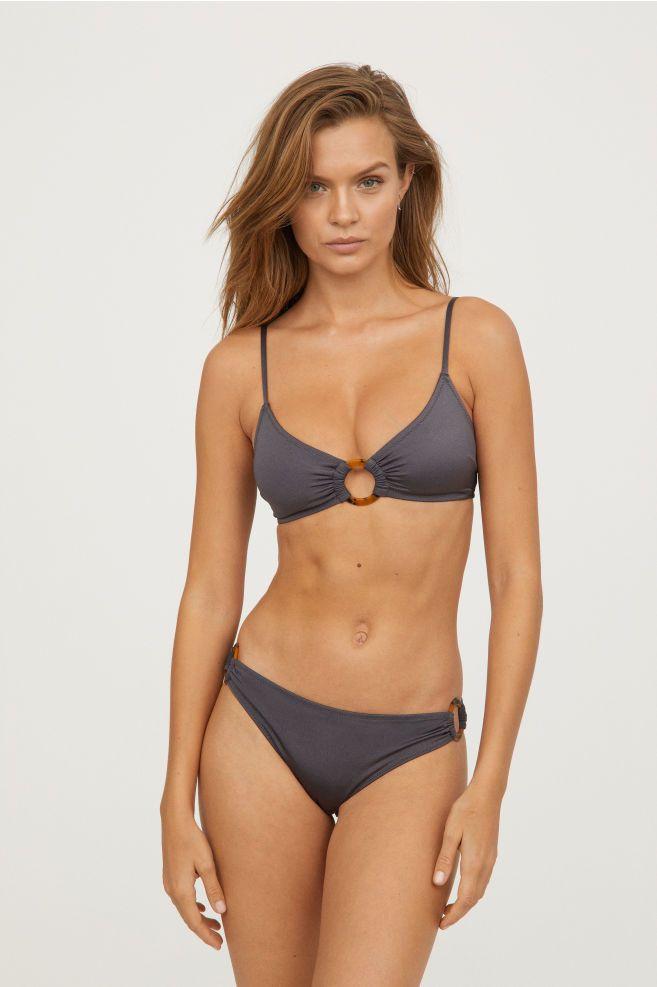 da2d842b1181 Braga de bikini - Gris oscuro - MUJER | 12,99 € | Things㊗ | Bikinis ...
