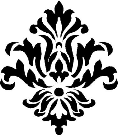 large+damasque+stencil | You can save them off and use them for ...