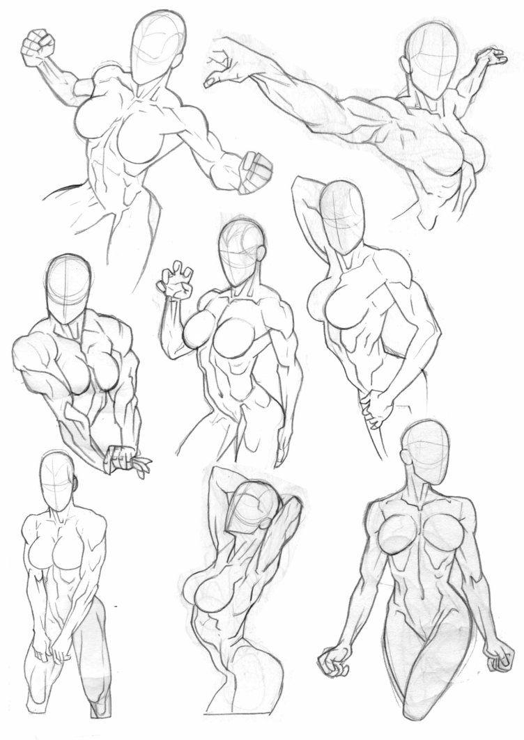 Sketchbook Torsos by Bambs79 | referentes mujeres | Pinterest ...