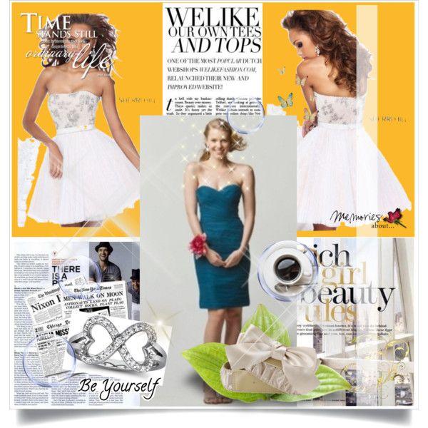 WTOO Watters 657 Bridesmaid Dress Indigo Sweetheart Pleated Bodice ...