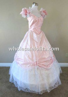 19th Century Masquerade Ball Dresses