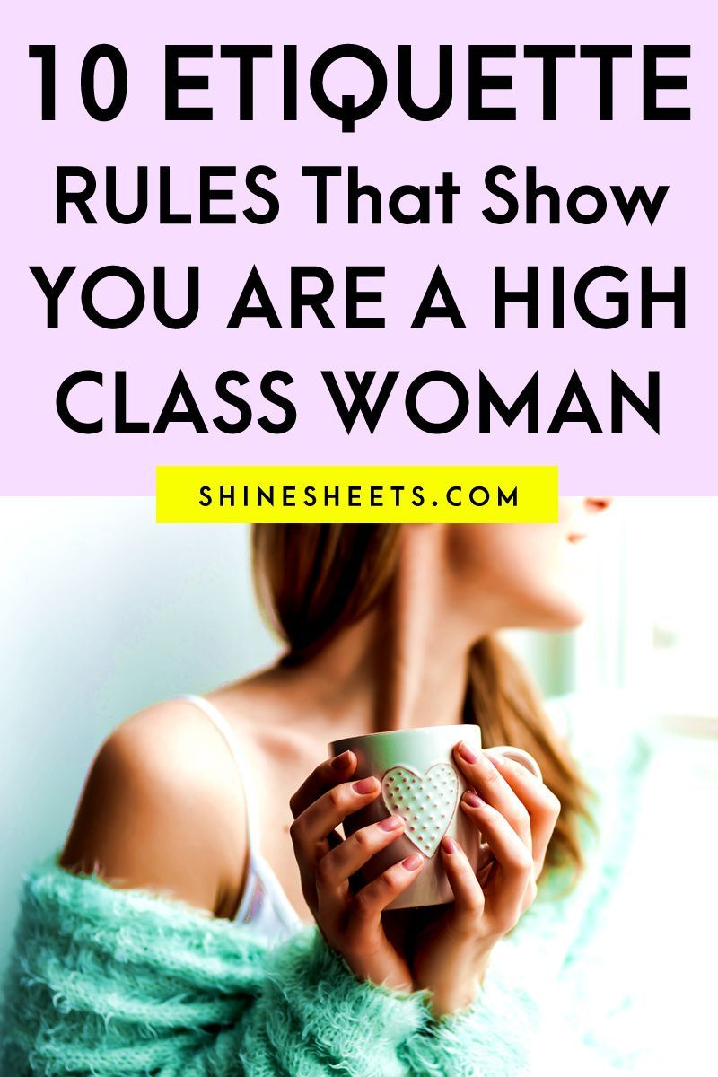 how to be a lady school