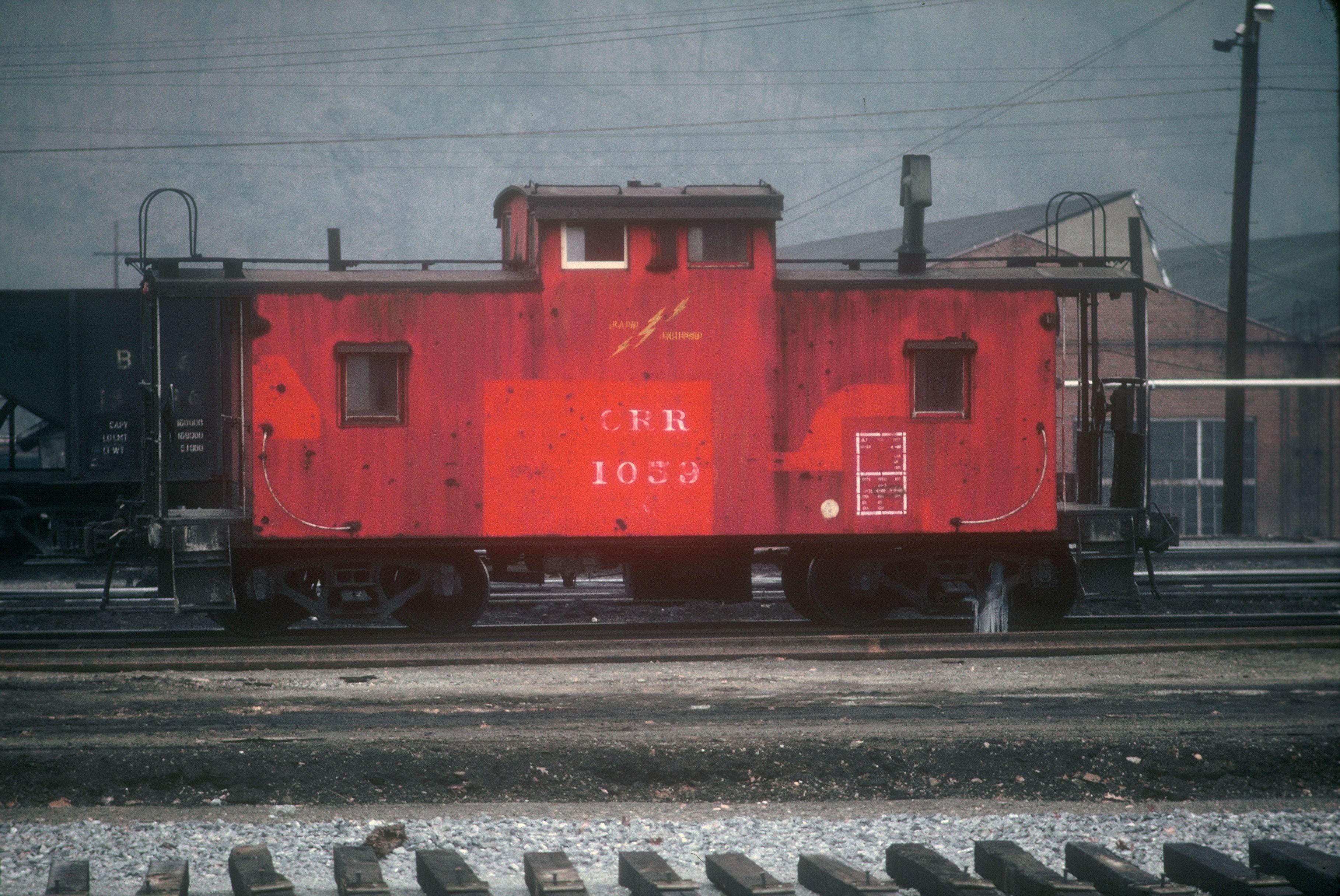 Clinchfield Erwin Yard Caboose 3 Caboose, Train, Yard