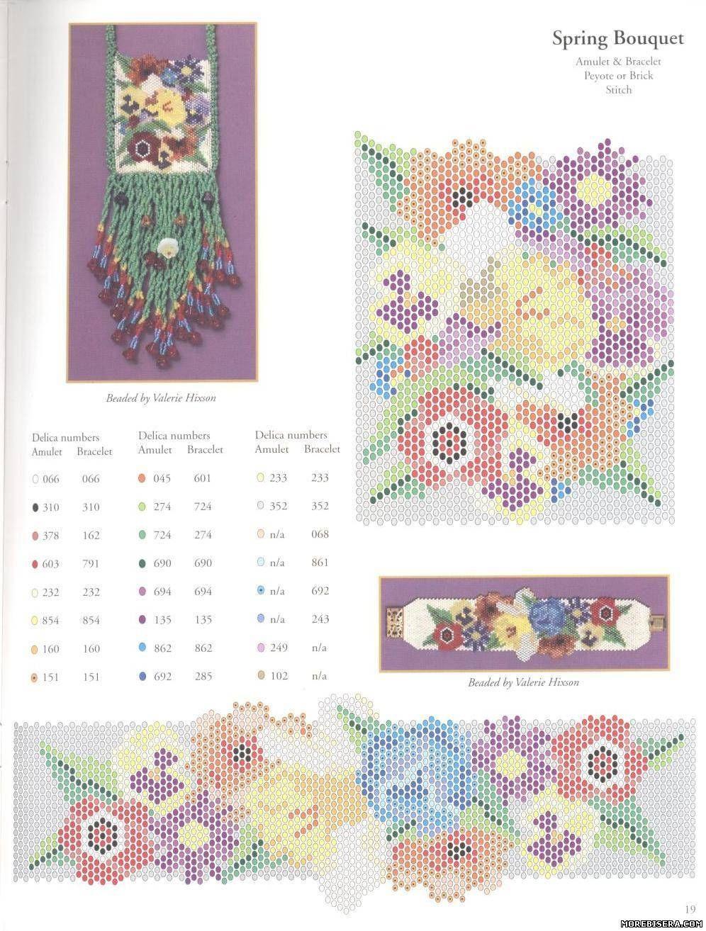 Плетение бисером схемы украшений