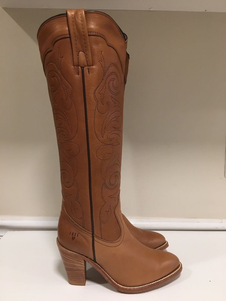 a4fe60406dc1d Vintage Frye Brown Leather Tall High Heel Cowboy Western Boots Size 6 B  EUC!  fashion  clothing  shoes  accessories  womensshoes  boots (ebay link)