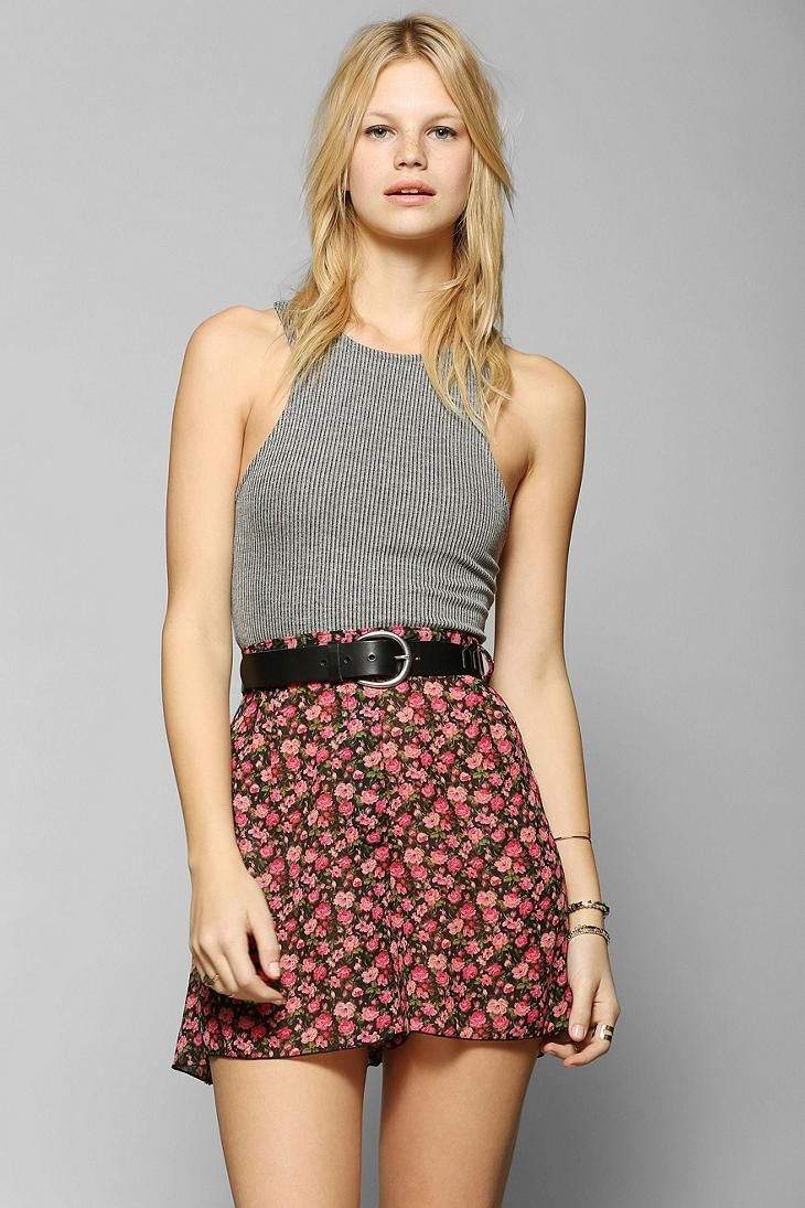 Urban Renewal Full Floral Shorts #urbanoutfitters