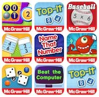 Mcgraw Hill Education Offers Free Ipad Math Apps Math Apps