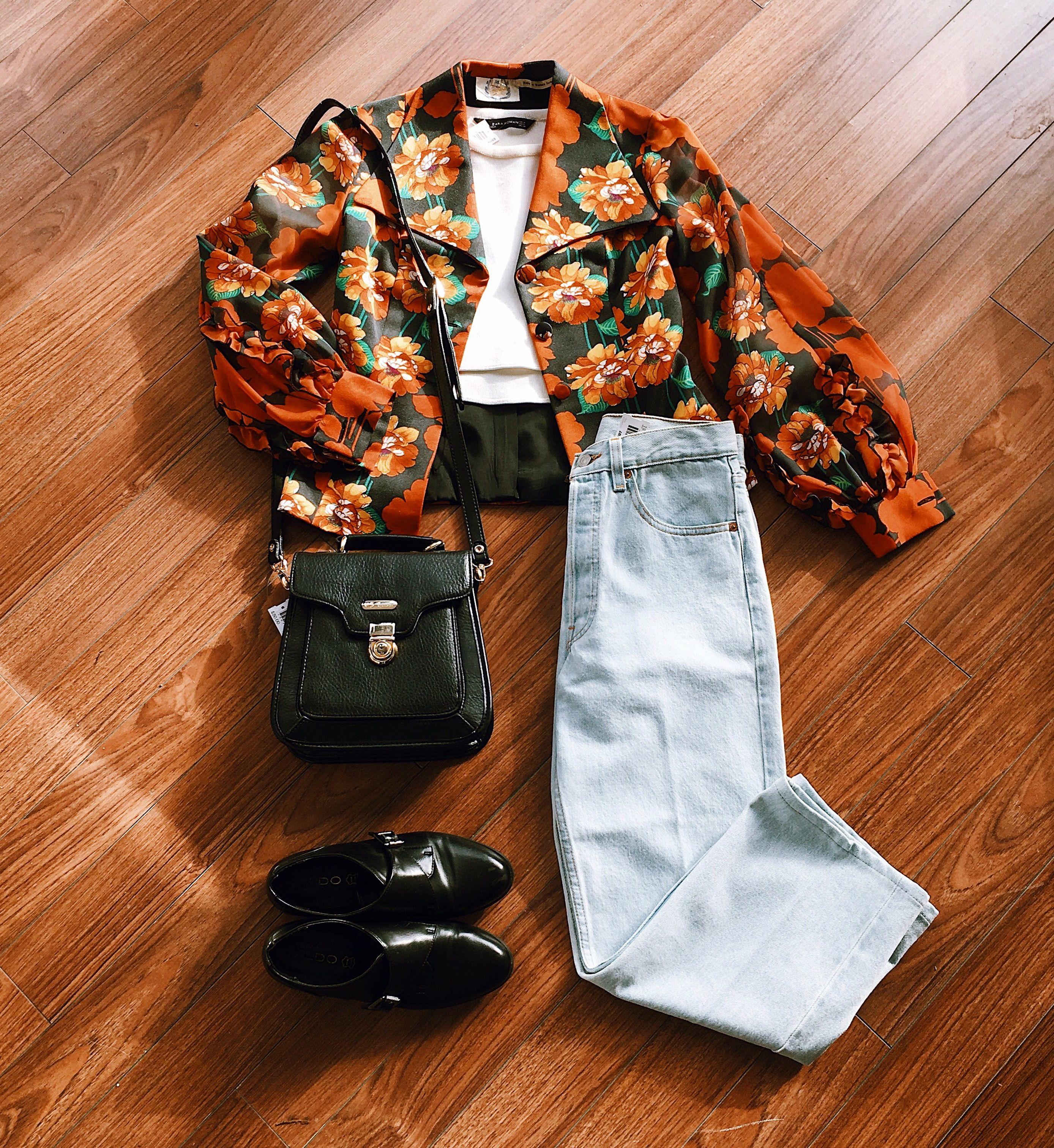 Found At Common Sort Vintage Jacket Zara Shirt Levi S Jeans