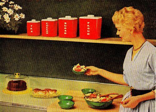Lustrex Homewares Advertisement Good Housekeeping 1954 Vintage