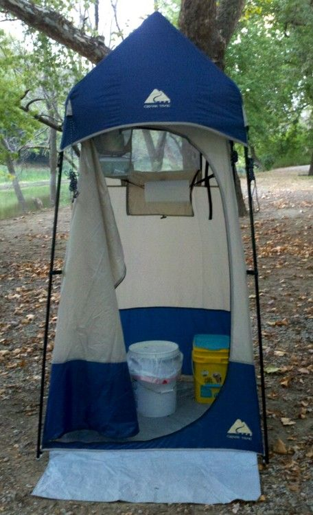 Another Potty Post When I Was Growing Up Our Camping Bible Was The - Camping bathroom tent