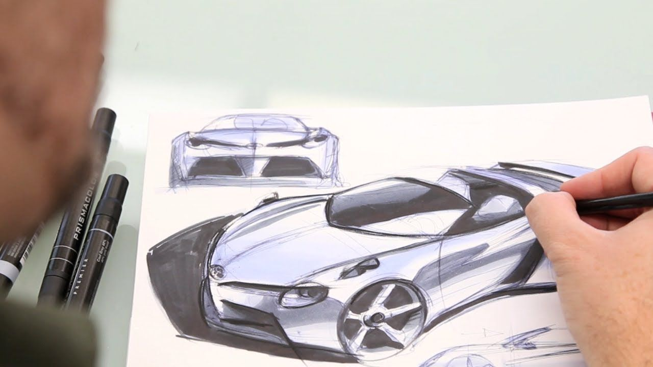 Concept Car Designed And Destroyed The Five Minute Car Ep 1 Concept Car Design Concept Cars Car Design