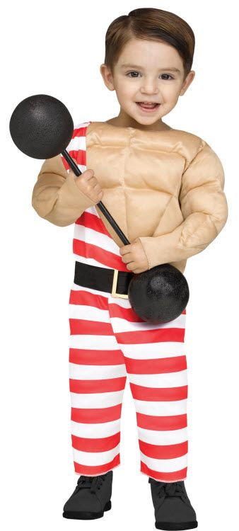 Toddler Carny Muscle Man Costume  sc 1 st  Pinterest & Toddler Carny Muscle Man Costume | Hunter Halloween | Pinterest ...