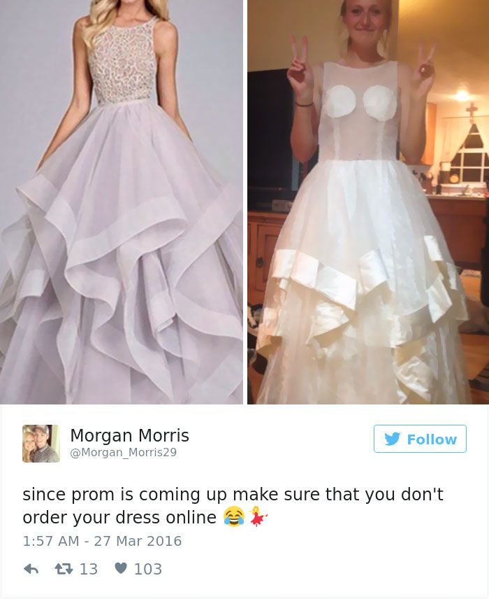 Teens Are Sharing Prom Dresses They Regret Buying Online And It\'s ...