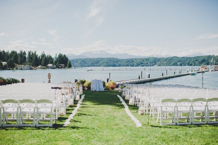 Outdoor Beach Weddings Via Ruffledblog