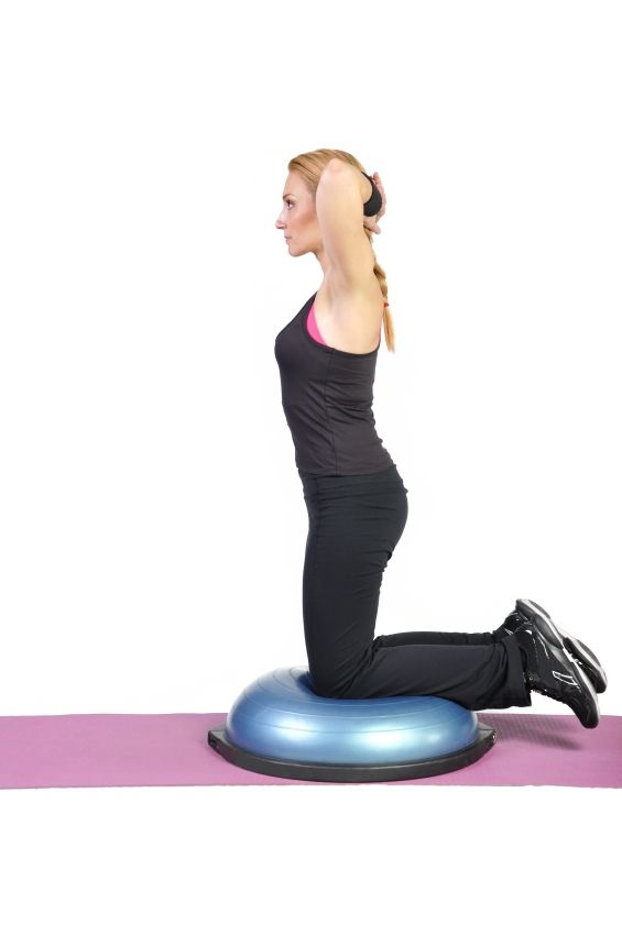 Enhance Your Core Workout With The Bosu Ball Fit Medical Weight
