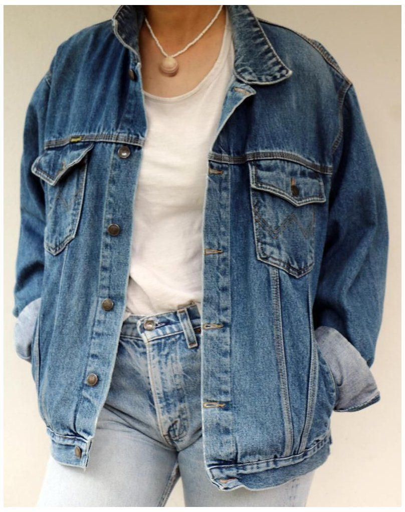 Wrangler Denim Jacket Vintage 70s 80s Jean Jacket Boho Western Country Boho Hippie Hipster How To Wear Denim Jacket Vintage Denim Jacket Jean Jacket Outfits [ 1021 x 808 Pixel ]