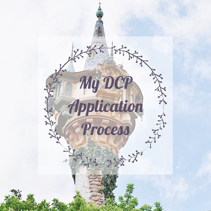 My DCP Application Process (With images) Disney college