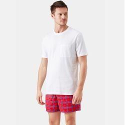 Photo of Herren Ready to Wear – Solid T-Shirt aus Bio-Baumwolle für Herren – T-shirt – Titus – Beige – L – Vi