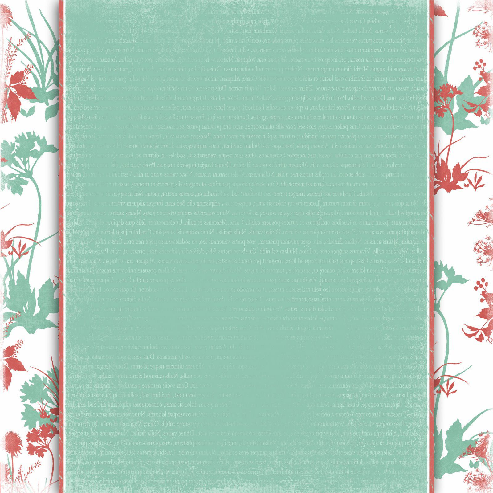 teal floral background Background Templates – Background Templates for Microsoft Word