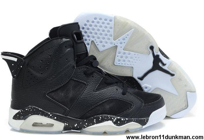 Buy New Mesh Black Latest Air Jordan 6 (VI) Retro Shoes Store