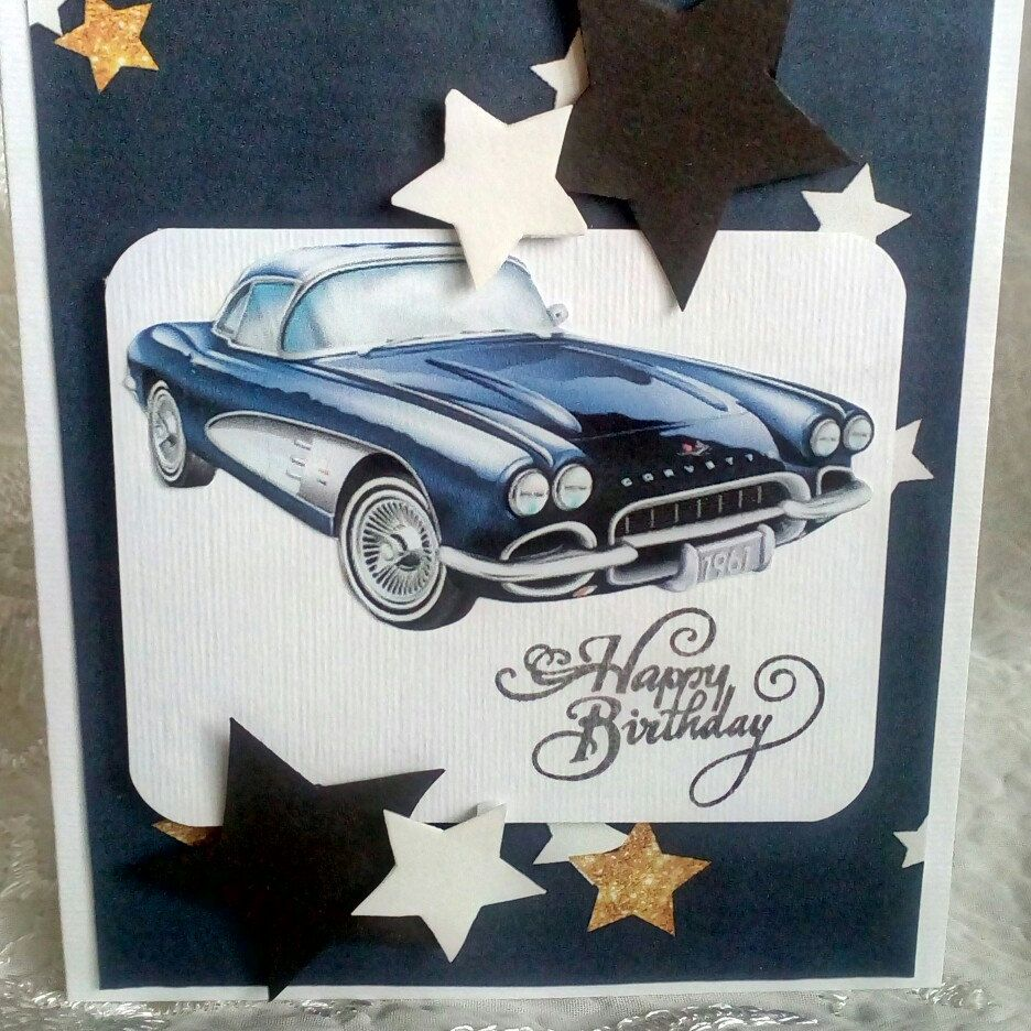 Car birthday card birthday card for him retro car card happy car birthday card birthday card for him retro car card happy birthday card black car card muscle car birthday card classic oldsmobile bookmarktalkfo Image collections