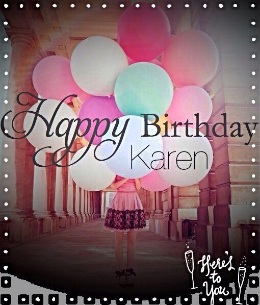 Happy Birthday Karen Wishes With Name Ideas