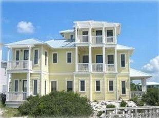 4 Br Seagrove Beach House In Fl Heated Communal Pools 2500