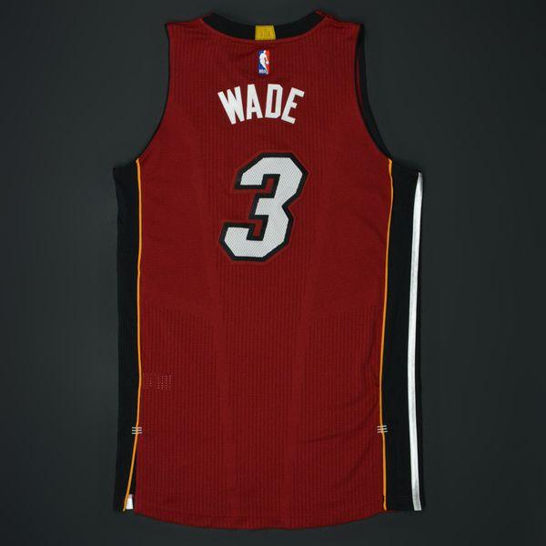 be380bb49 Dwyane Wade - Miami Heat - Game-Worn Dwyane Wade Jersey