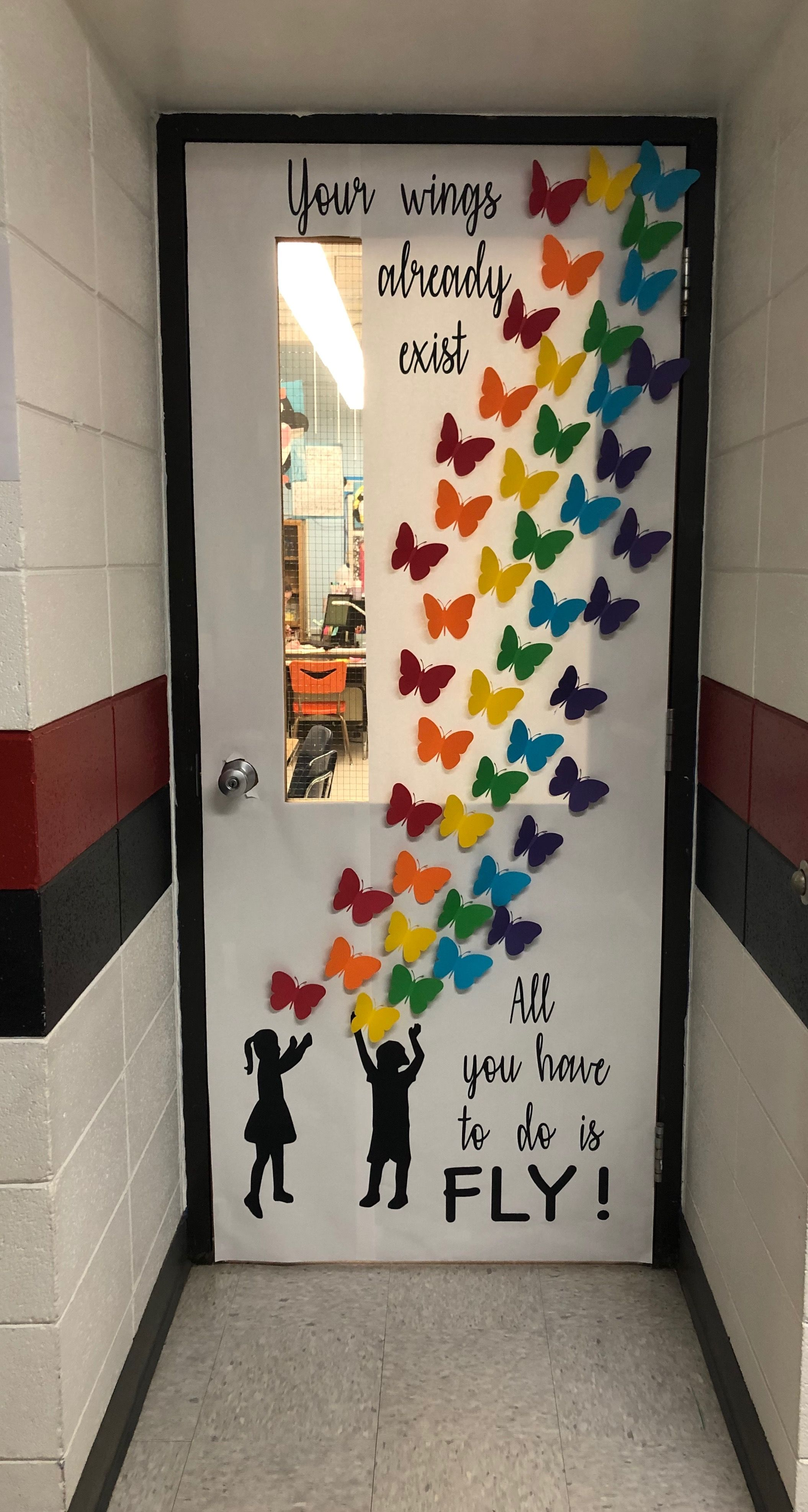 All You Have To Do Is Fly Classroom Door Idea Diy Classroom