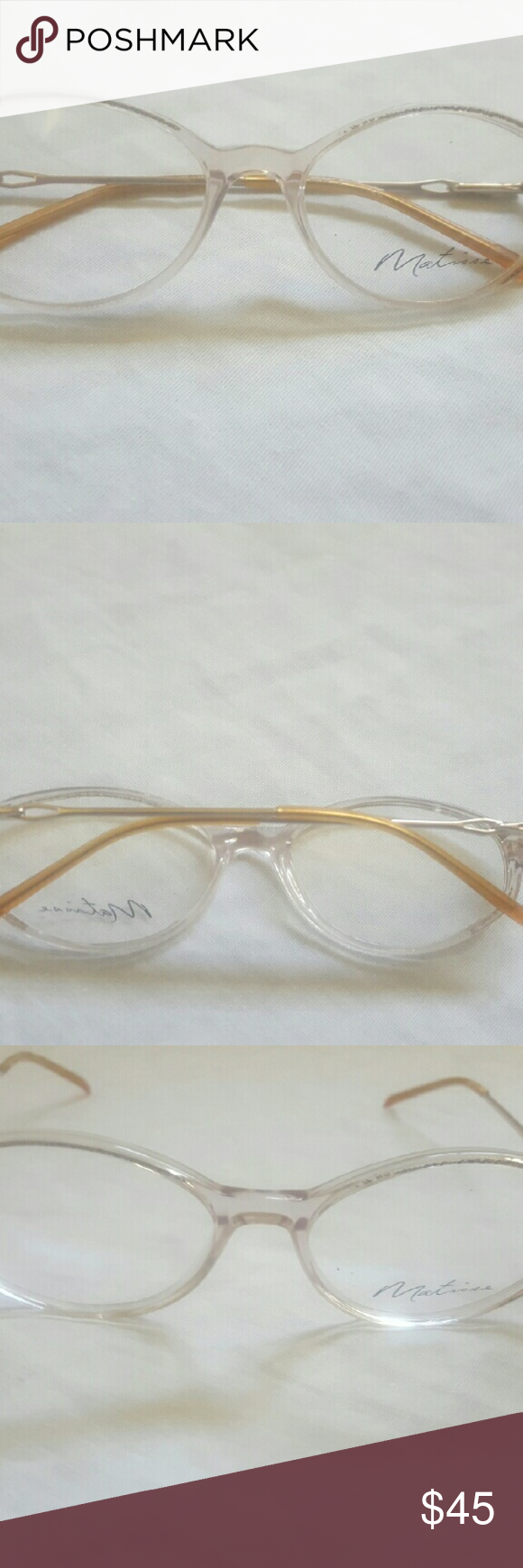 💲FINAL PRICE💲 Matisse Frames - MA 305 Authentic Matisse Frames. Demo lens. MA 305. 53-16 130. Color: Beige. NWOT Matisse Accessories Glasses