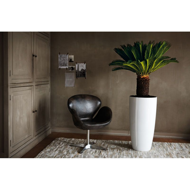 Amazing beautiful tall indoor planters with easy watering system ...